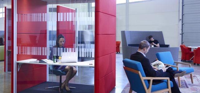 Orangebox Air³ Raum-in-Raum System